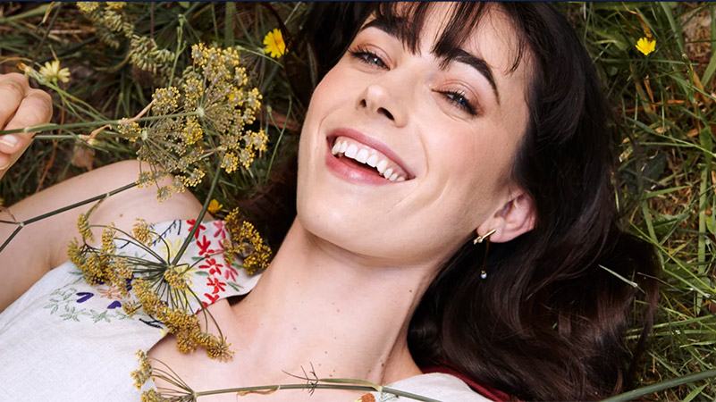 Geraldine Hakewill faces her demons on screen and off
