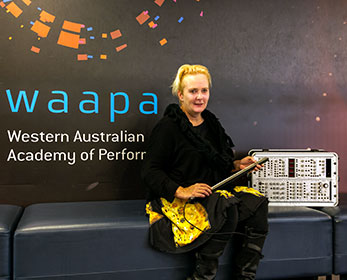 WAAPA PhD candidate Meg Travers is investigating how we can preserve early electronic instruments.