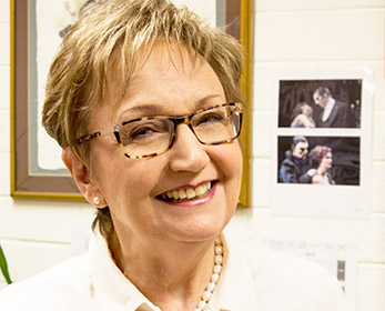 Ms Patricia Price at the Western Australian Academy of Performing Arts