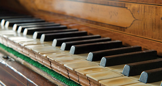 Founding Pianos - ECU's Rare and Important Piano Collection