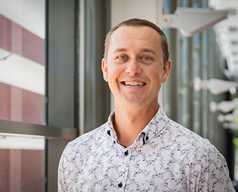 Dr Luke Hopper at ECU's Western Australian Academy of Performing Arts