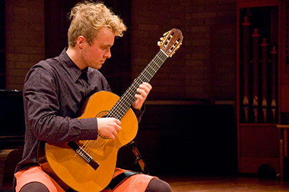 A Guitar Schubertiade at the Western Australian Academy of Performing Arts